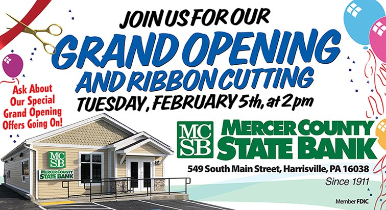 Harrisville Grand Opening Ribbon Cutting